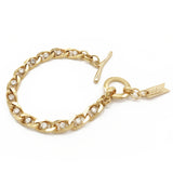 Twin Flame Bracelet - Gold