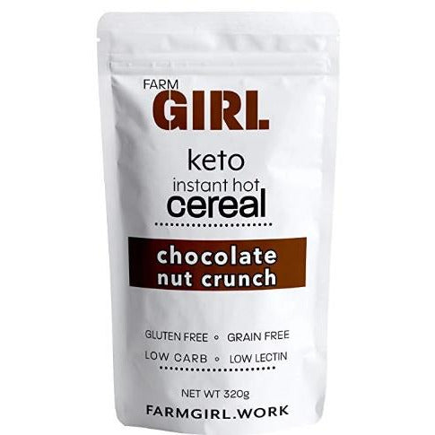 Instant Hot Cereal: Chocolate Nut Crunch - Farm Girl