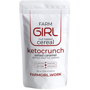 Ketocrunch: Salted Caramel Nut Based Cereals - Farm Girl