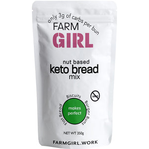 Nut Based Gluten Free Keto Bread Roll Mix - Farm Girl