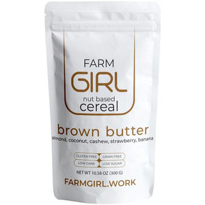 Brown Butter:  Ontario Strawberry, and banana crisp. - Farm Girl