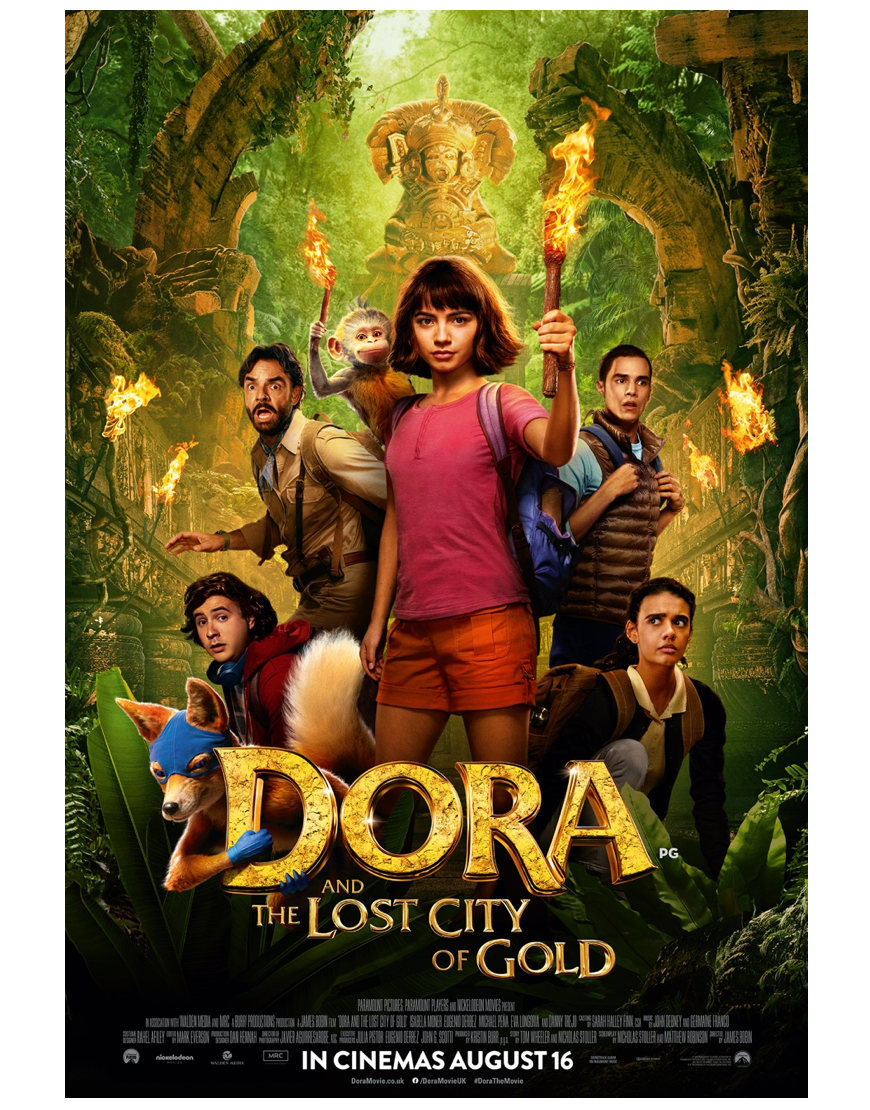 Dora and the Lost City of Gold in cinemas august 16