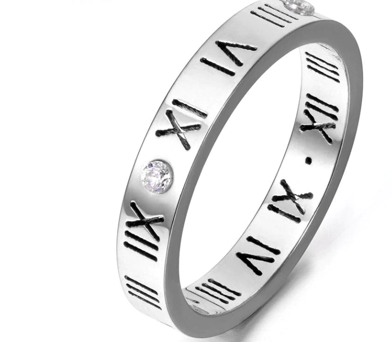 Roman Numerical Ring