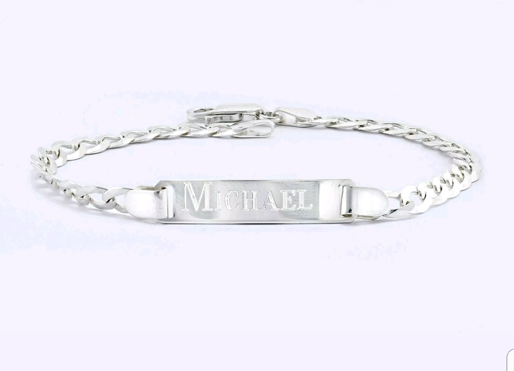 Customised Baby Bracelet Silver 925 (2 Day Dispatch)