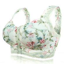 Load image into Gallery viewer, *ENJOY SUMMER * Front Zipper Wireless Flower Bra