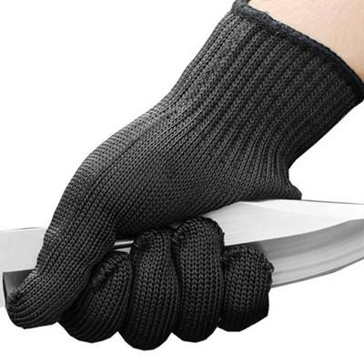 Safety Gloves Cut-Resistant Stainless Steel Wire Anti-Cutting Gloves Protective Hand Finger Gloves
