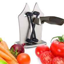 Load image into Gallery viewer, Kitchen Knife Sharpener Polishes Serrated Beveled And Standard Blades Household