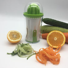 Load image into Gallery viewer, Multi-function Vegetable Spiral Slicer With Juicer-Kitchen & Dining-skrstar.com-