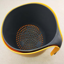 Load image into Gallery viewer, Multifunctional 2-in-1 Double Drain Basket-Kitchen & Dining-skrstar.com-
