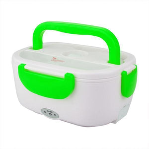 Portable Heating Electric Lunch Box-Kitchen & Dining-skrstar.com-Green-EUPlug-