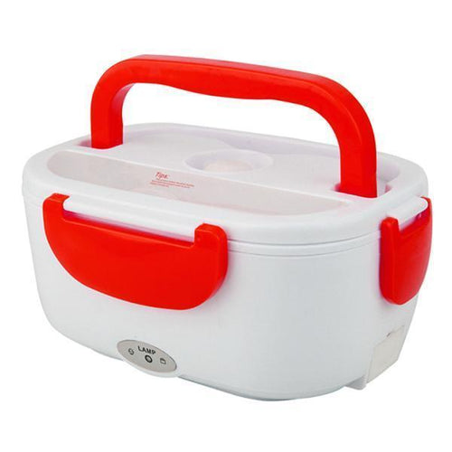 Portable Heating Electric Lunch Box-Kitchen & Dining-skrstar.com-Red-EUPlug-