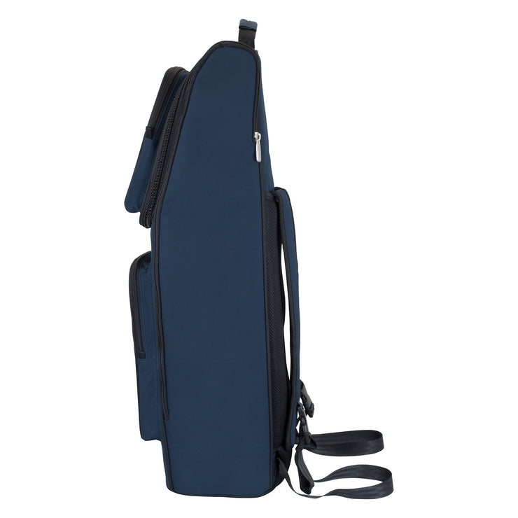 36BA-387 - Tom & Will bassoon gig bag Blue with blue interior