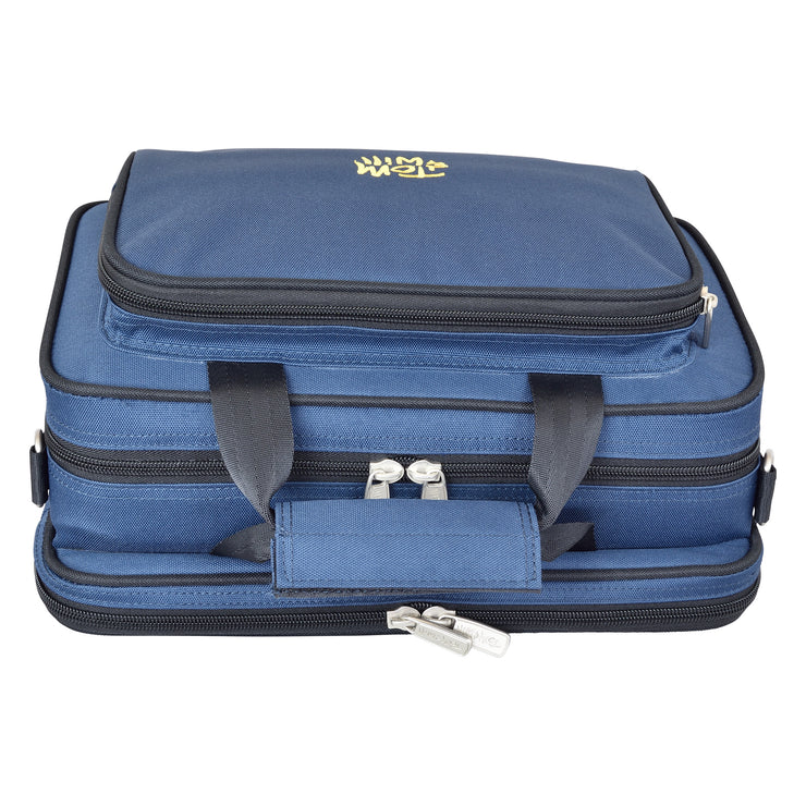 36OB-387 - Tom & Will oboe gig case Blue with purple interior