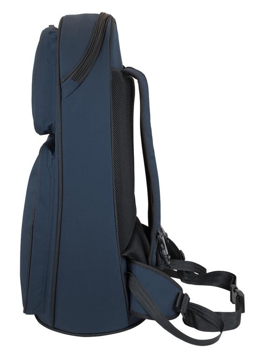 26TH-387 - Tom & Will tenor horn gig bag Blue with blue interior