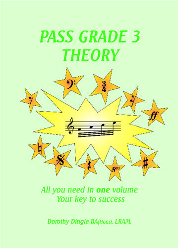 9780955395116 - Dingle Music Pass Grade 3 Theory Default title