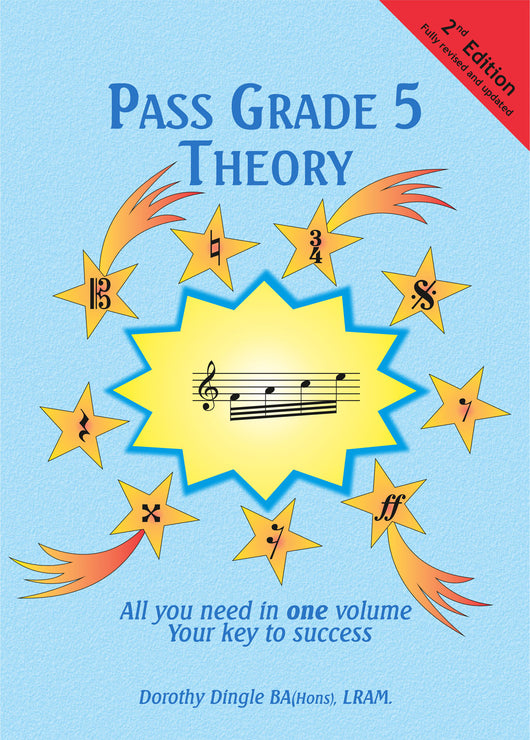 9780955395123 - Dingle Music Pass Grade 5 Theory - 2nd Edition Default title