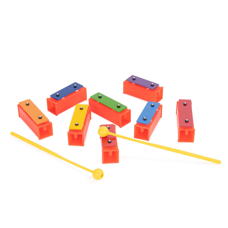 KB10 - Percussion Workshop KB10 coloured chime bars supplied beaters & case Default title