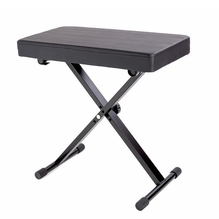 LMS24A - Lawrence height adjustable keyboard bench with padded seat Default title
