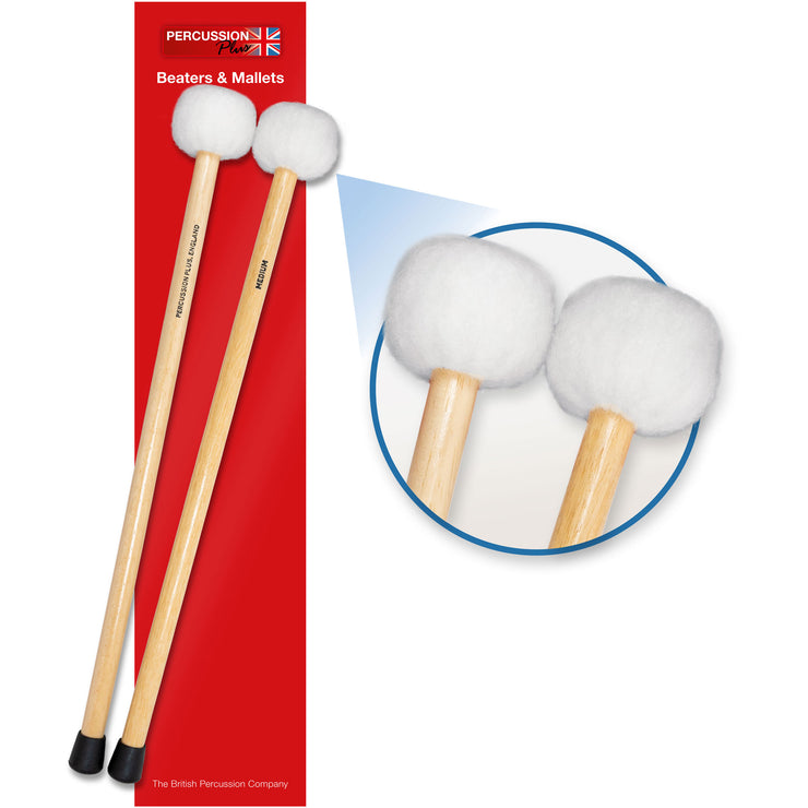 PP073 - Percussion Plus timpani mallets - medium Medium