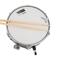 PP260-WR,PP260-BK - Percussion Plus Junior side drum with sticks and stand Black