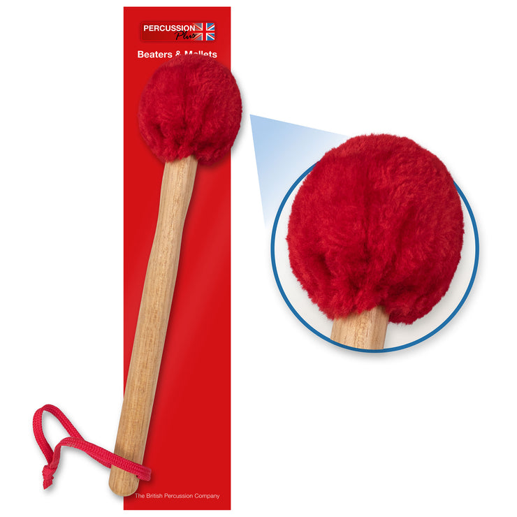 PP287 - Percussion Plus wooden surdo mallet with soft puff head Default title
