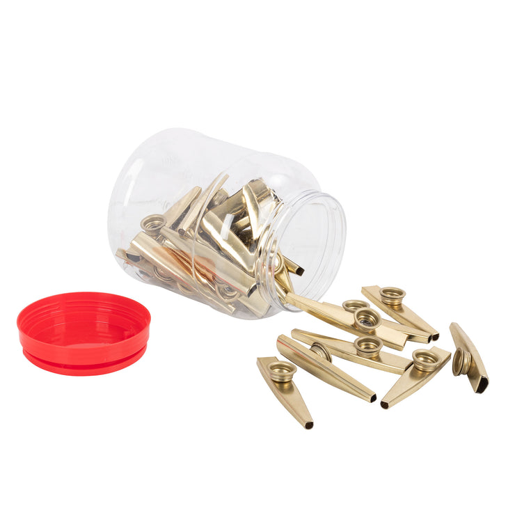PP3430 - Percussion Plus tub of 30 metal kazoos Default title