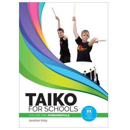 PP4107 - Jonathan Kirby's Taiko Drumming Book & DVD Default title