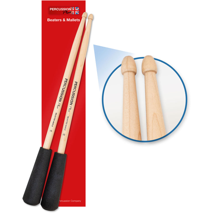 PP757 - Percussion Plus easy grip drum sticks Default title