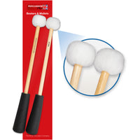 PP759 - Percussion Plus easy grip medium to soft timpani mallets Default title