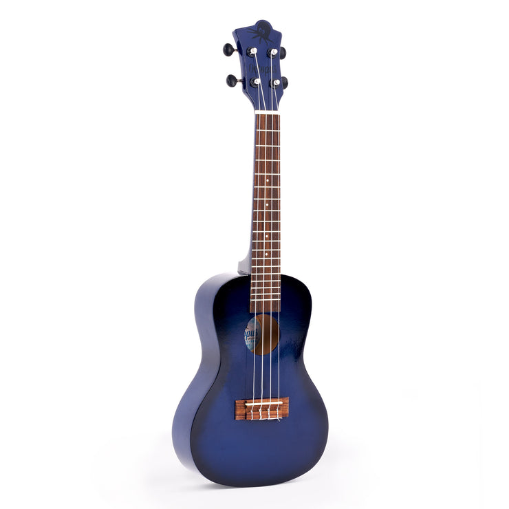 UK215C-DBB - Octopus UK215C New 2020 model concert ukulele Dark Blue Burst