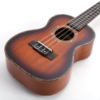 UK300S - Octopus Mahogany soprano ukulele in gloss finish Default title
