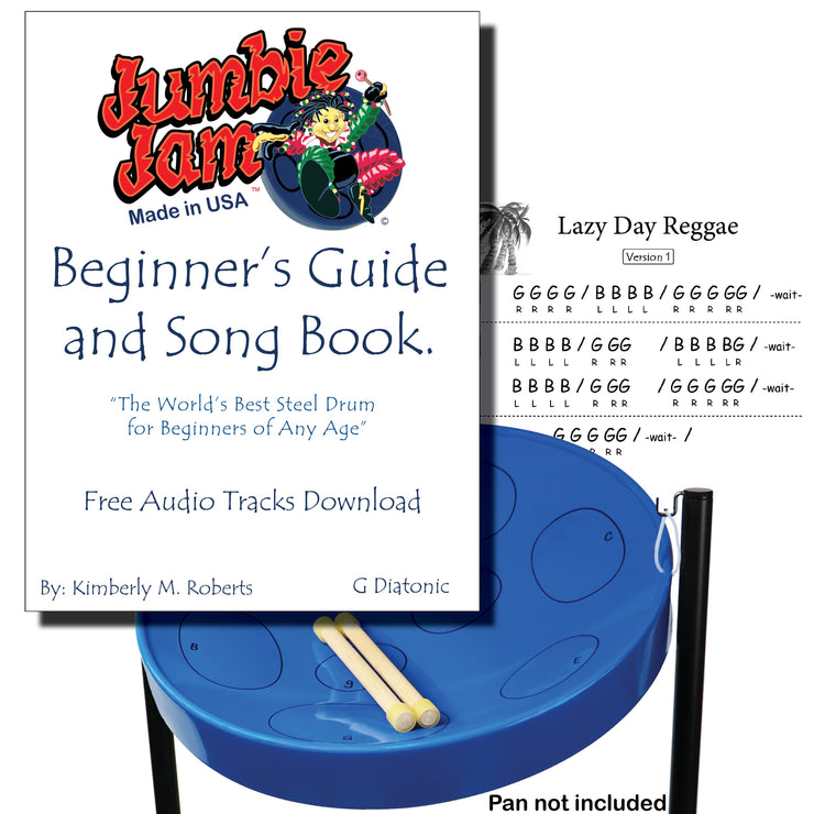 JJ5500 - Jumbie Jam Beginner's Guide and Song Book Default title