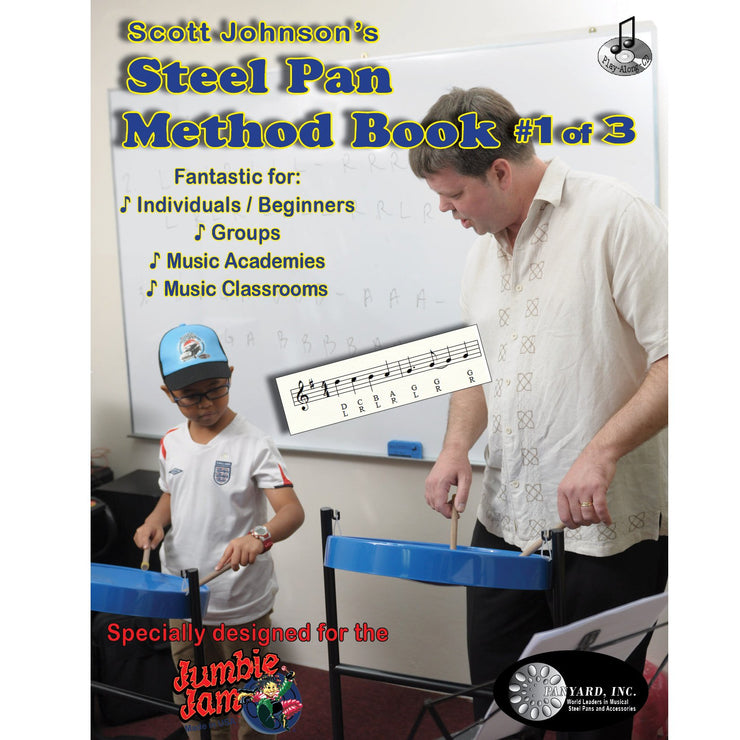 JJ5522 - Steel Pan Method Book 1 for Jumbie Jam Default title