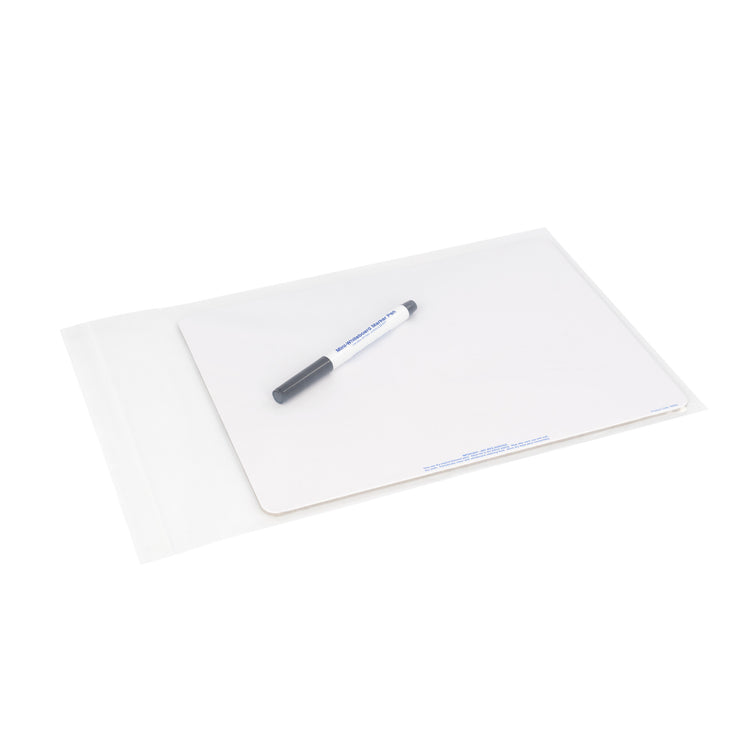 WB02-10 - Chamberlain Music A4 plain whiteboard - pack of 10 Default title