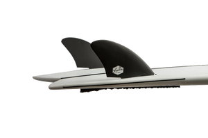 Dérives Twin Feather Fins Noir - Jouneka Surf Shop
