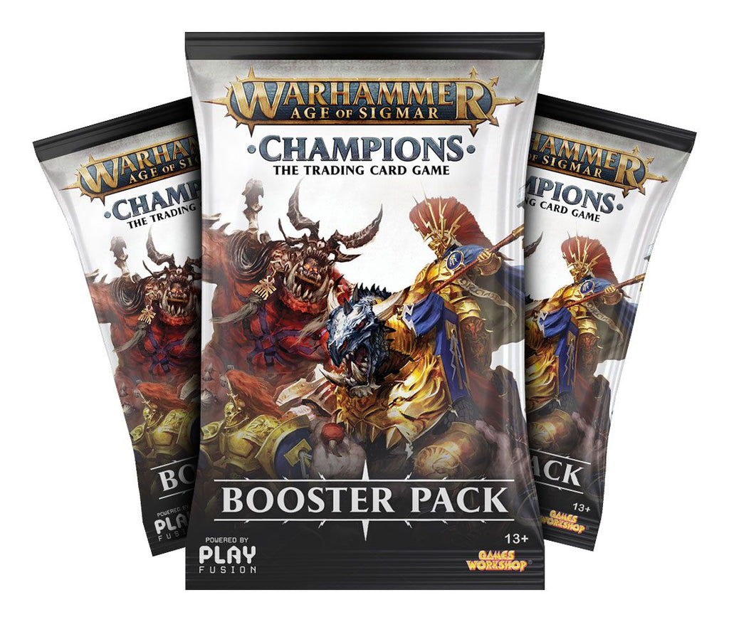 Warhammer Champions Card Game - Booster Box (24 packs)
