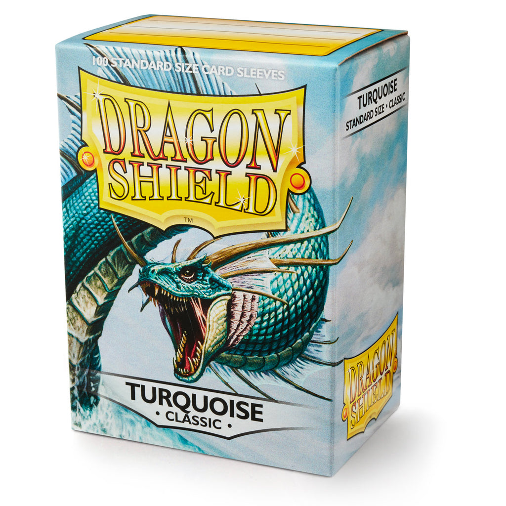 Dragon Shield - Classic Turquoise (x100)