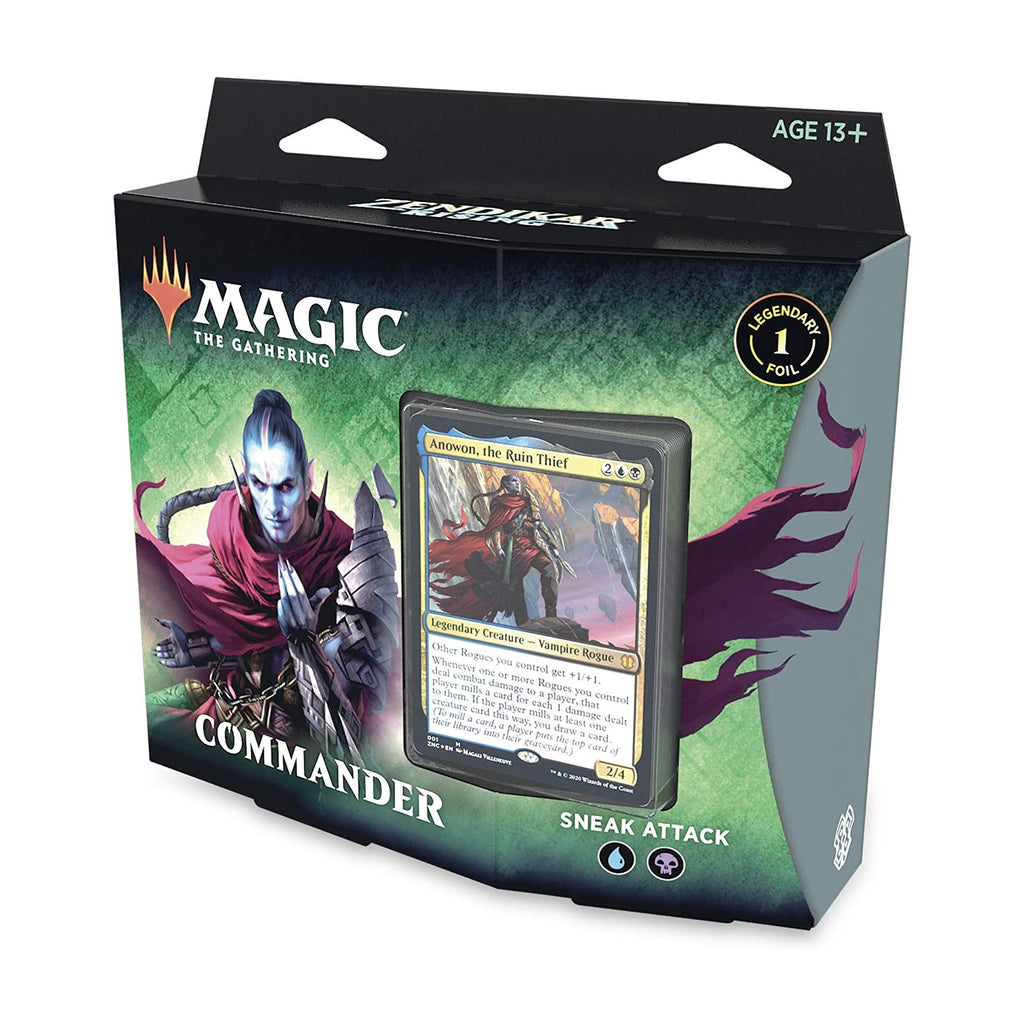 Zendikar Rising Commander - Sneak Attack