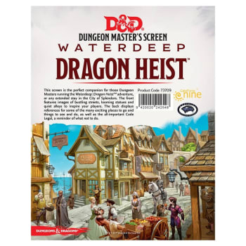 Dungeonmaster Screen: Waterdeep Dragon Heist
