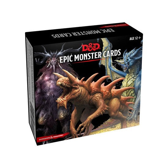D&D Monster Cards: Epic Monsters