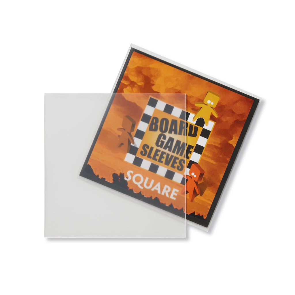 Board Game Sleeves (Non-glare) - Square x50