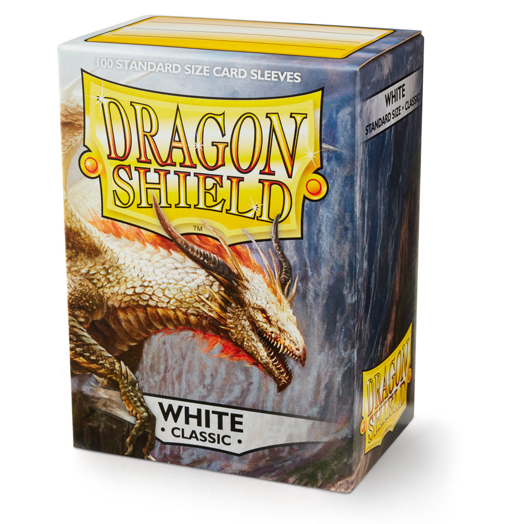 Dragon Shield - Classic White (x100)