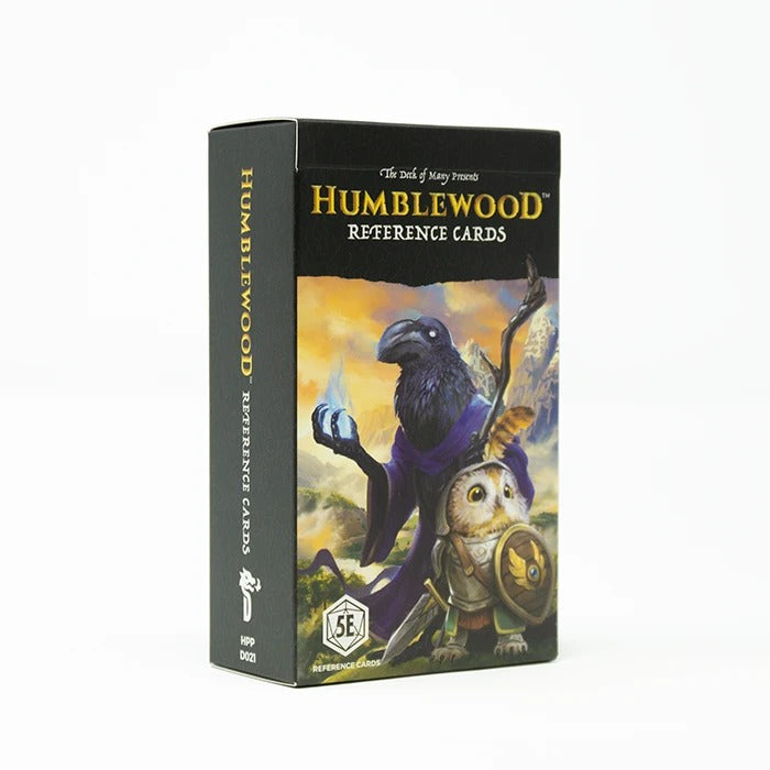 Humblewood Referance Cards