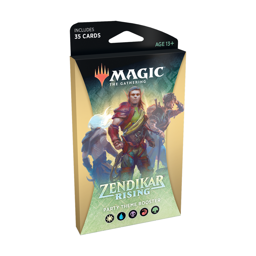 Zendikar Rising Theme Booster - Multicolored
