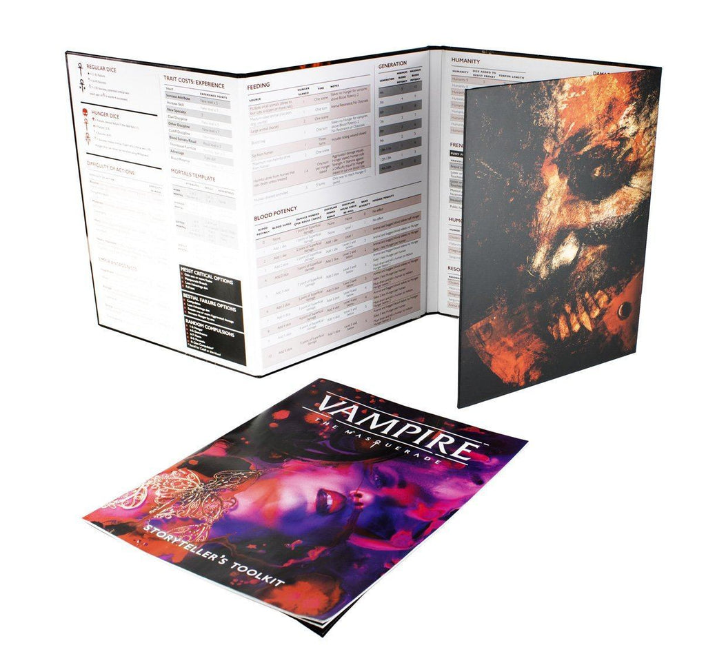 Vampire: The Masquerade 5th Edition - Storyteller Screen