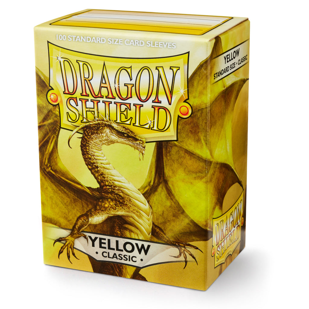 Dragon Shield - Classic Yellow (x100)