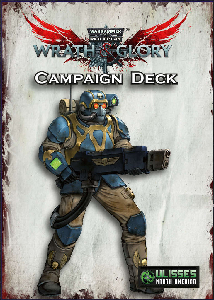 Wrath & Glory Campaign Card Deck