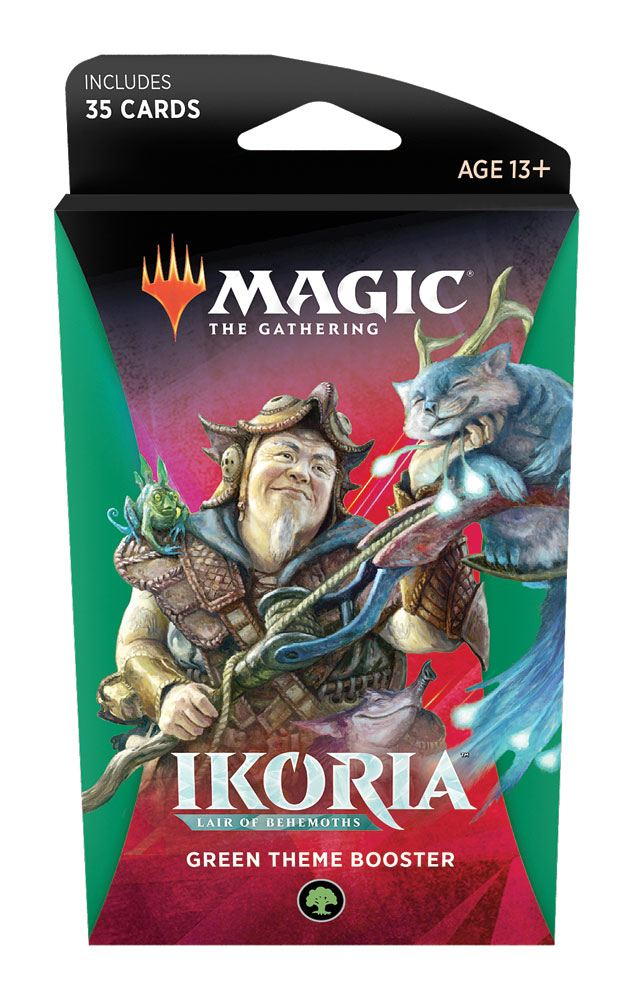 Ikoria: Lair of Behemoths Theme Booster - Green