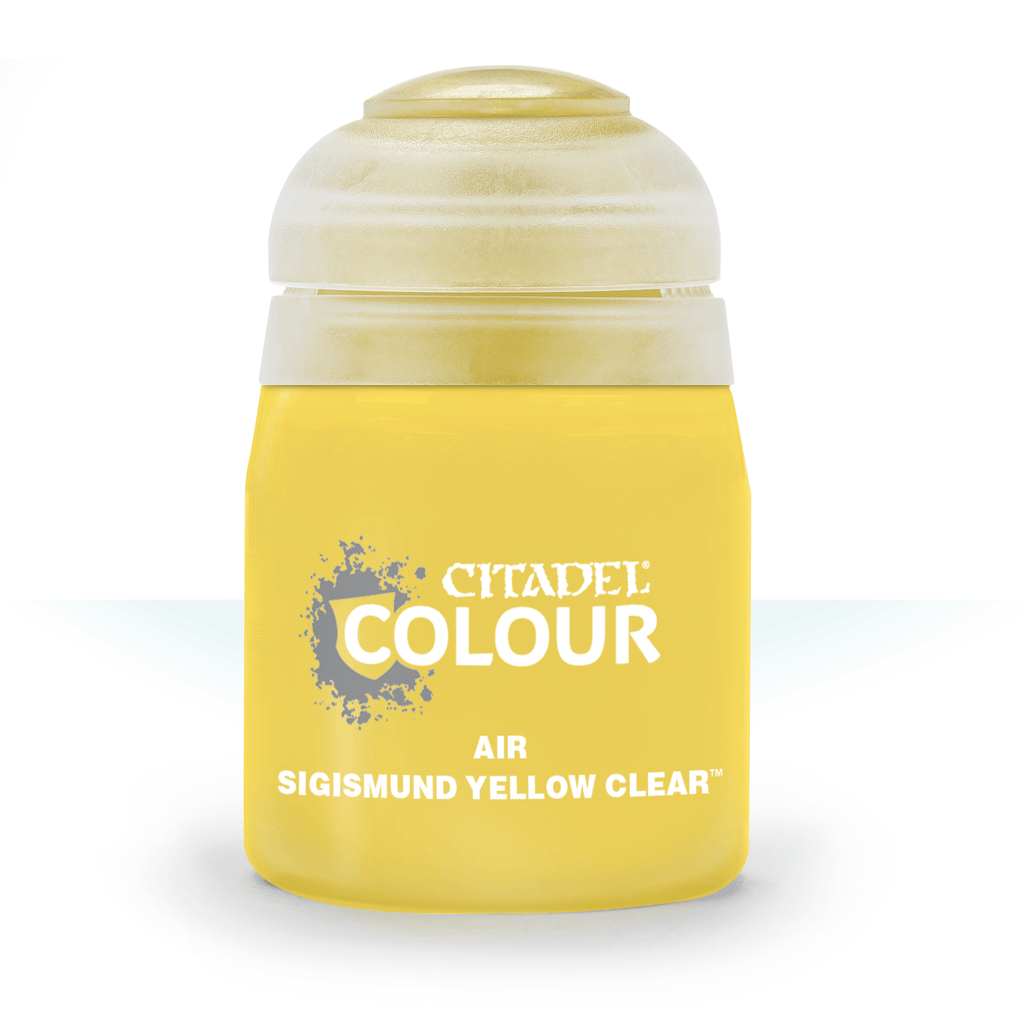 Air: Sigismund Yellow Clear