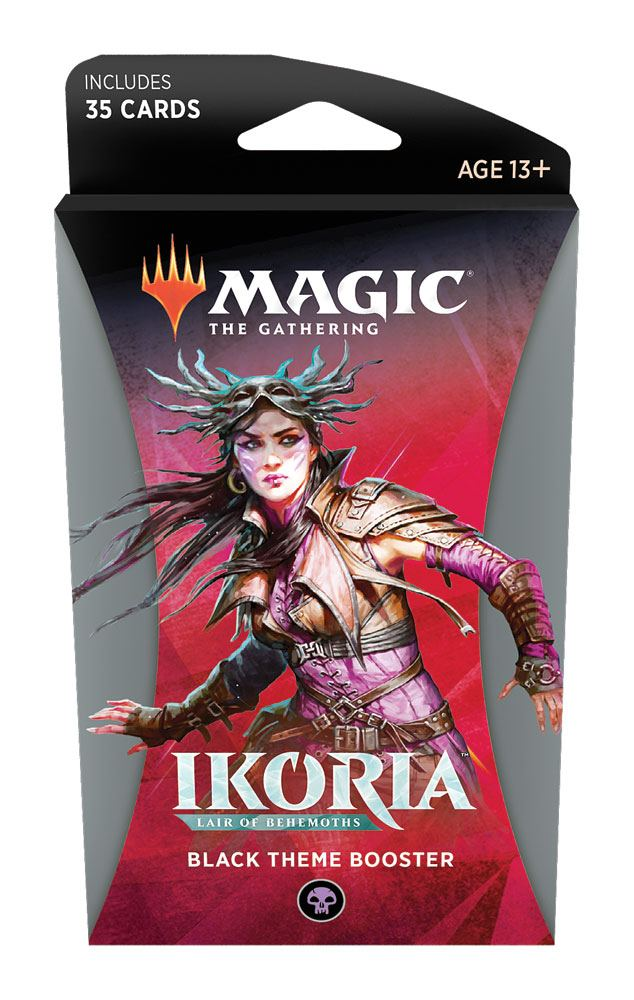 Ikoria: Lair of Behemoths Theme Booster - Black